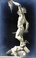 """FIRENZE : Loggia dei Lanzi - """"  Perseo di profilo """""""