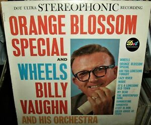 Orange Blossom Special & Wheels Billy Vaughn & His Orchestra Play Dot LP
