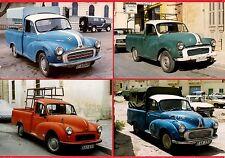 Malta Transport ~ 4 Morris Minor Pickup Trucks: Set 2 - Justin - late 1990s