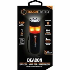ToughTested5200 mAh Utility Flashlight, Power Bank and Emergency Window Breaker