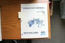 New Holland 254 Hay Rake Tedder Operators Manual