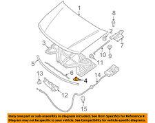 NISSAN OEM Hood-Insulator Insulation Pad Liner Clip 6584630F00