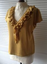 Kalico frilled top 16 BNWT