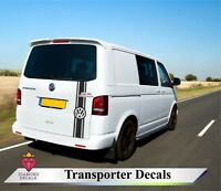 Volkswagen VW T5 T4 T6 Transporter Decals rear stripes ANY COLOUR Custom