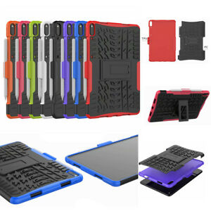 """For Huawei MatePad Pro 10.8"""", 3D 2in1 Dual-Layer Hybrid Rugged Grip Armor Case"""