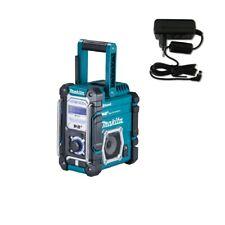 Makita Baustellenradio DMR112 Bluetooth DAB DAB+ FM AUX MP3 USB Netzteil