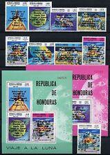 Raumfahrt Space 1970 Honduras Apollo Aufdrucke 757-764 + 781 + Block 17-18/999