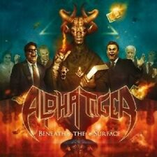 Alpha Tiger-beneath the surface (LIMITED EDITION) CD HEAVY METAL NUOVO