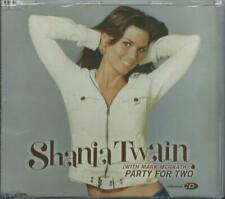 """SHANIA TWAIN - PARTY FOR TWO 2004 EU CD PRODUCED BY JOHN """"MUTT"""" LANGE"""