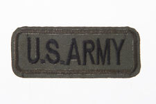 U.S. ARMY dark Green Embroidery Needle craft Decor by sewing or ironing