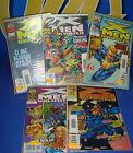 Lote de comics X-MEN UNLIMITED-5 numeros