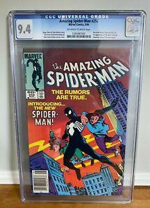 The Amazing Spider-Man #252 1984 CGC 9.4 1st App of Black Costume (Venom)