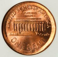 2000 ANACS MS64 RED Double Struck Huge Broadstruck Lincoln Cent Mint Error