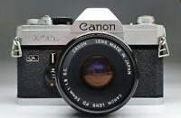 CANON FTb QL + CANON FD 50/1,8 S.C.