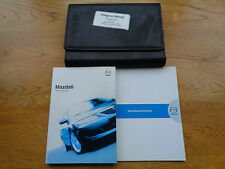 MAZDA 6 MAZDA6 HANDBOOK OWNERS MANUAL WALLET 2008-2010 PACK 15272