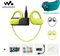 Sony Walkman NW-WS413 MP3 Player Headphone Earhook Waterproof IPX8 Swimming