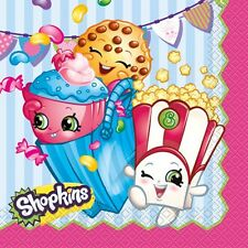 Shopkins Paper Luncheon Napkins 16 Ct Birthday