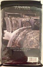 J. Queen New York Paloma European Pillow Sham Chocolate Brown Nip