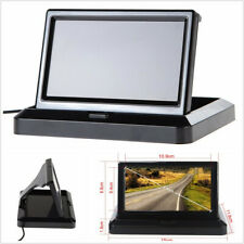 5 in Foldable HD Car Rear View Monitor LCD TFT Color Display Reversing Screen