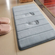 Water Absorption Rug Bathroom Mat Shaggy Memory Foam Bath Mat Door Floor Mat
