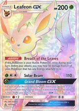 Pokemon SM - Ultra Prism Leafeon GX (Secret Rare) 157/156 Secret Rare Card NM