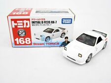 Takara Tomy Dream Tomica  #168 Initial D FC3S RX-7 White Diecast Model Toy Car