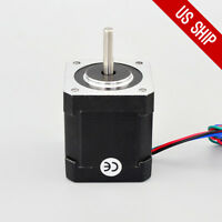 US Free Ship Nema 17 Stepper Motor 84oz.in(59Ncm) 2.0A 3D Printer STEPPERONLINE