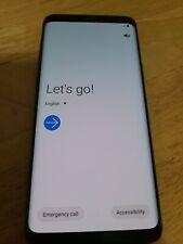 Used Samsung Galaxy S9 SM-G960U- 64GB - Midnight Black (Unlocked) Verizon AT&T