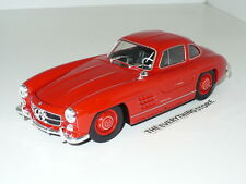 Welly Mercedes Benz 300 Sl Gull Wing Doors 1:24 Bright Red Free Ship