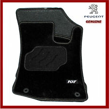 Genuine Peugeot 107 Carpet Floor Mats, Front & Rear. 9663K5. New!