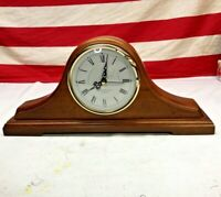 ⭐Wooden Westminster Mantle Clock Quartz Chime⭐