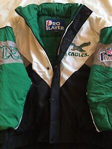 Vintage Philadelphia Eagles Pro Player XL Winter Jacket