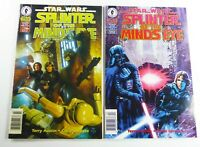STAR WARS: SPLINTER OF THE MINDS EYE (1996) #2 #4 RARE NEWSSTAND Lot VF to VF/NM