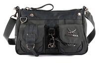 Sansibar Calima Zip Bag Tasche Umhängetasche Schultertasche Grau