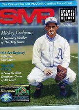 New listing DECEMBER 2011  MICKEY COCHRANE COVER SMR PSA SPORTS MARKET REPORT  MINT