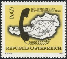 Austria 1972 Telephone/Communications/Telecomms/Technology/Maps 1v (at1059a)