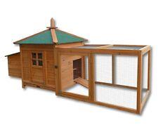 Poulailler / Clapier / Cage à poule XL en bois / Cabane pour lapin ou poule