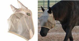 Cashel Econo Horse Equine Fly Mask With UV Protection