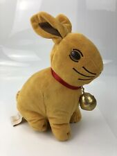 Lindt Chocolate Bunny Rabbit Storage Soft Toy Plush With Bell & Ribbon