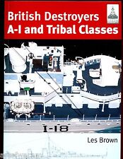 Shipcraft # 11 - BRITISH DESTROYERS ,A TO I & TRIBAL CLASSES,  Brown SB    new
