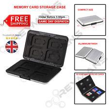 Caja de almacenamiento de tarjeta de memoria 8 ranuras para tarjetas SD SDHC MMC Micro SD, tarjeta de memoria