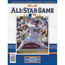 CLAYTON KERSHAW PROGRAM 2013 ALL STAR GAME LOS ANGELES DODGERS LIMITED EDITION