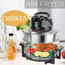 1300W 17L Air Fryer Oil Less Griller Roaster Low Fat Technology Calorie Reducer