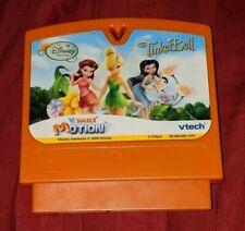 Vtech V-Smile V-Motion Disney Fairies Tinkerbell Game Cartridge Learning Educate
