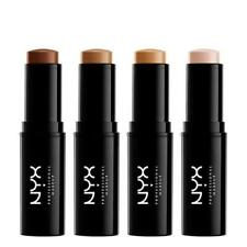 2 X NYX 6g Mineral Stick Foundation Msf03 Light -