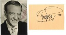 Fred Astaire and Ginger Rogers - American Iconic Dancers Signed Photo & Page.