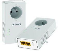 NETGEAR PLP2000 PACK 2 CPL 2000 Mbit/s PRISES FILTRÉE ET 2 PORTS GIGABIT