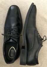 """Men""""s Dress Shoes Oxfords Black Leather & Manmade 11M Merona Rounded Square toe"""
