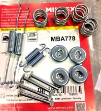 MINTEX REAR SHOE FITTING KIT FOR TOYOTA YARIS VERSO MBA778