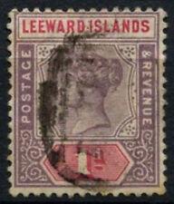 ISOLE SOTTOVENTO 1890 SG#2, 1d noiosa Malva & Rose QV USATO #D54051